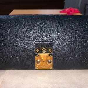 Louis Vuitton Metis Wallet MONOGRAM EMPREINTE